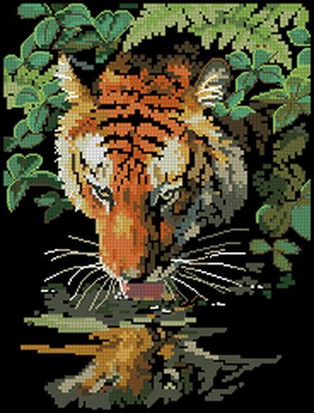 тигр бесплатные схемы
